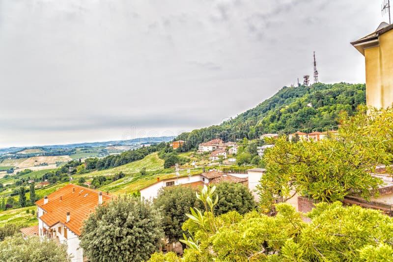 Сельская местность Romagna в Италии стоковое изображение
