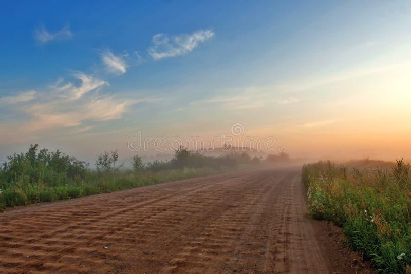 Сельская дорога стоковое фото