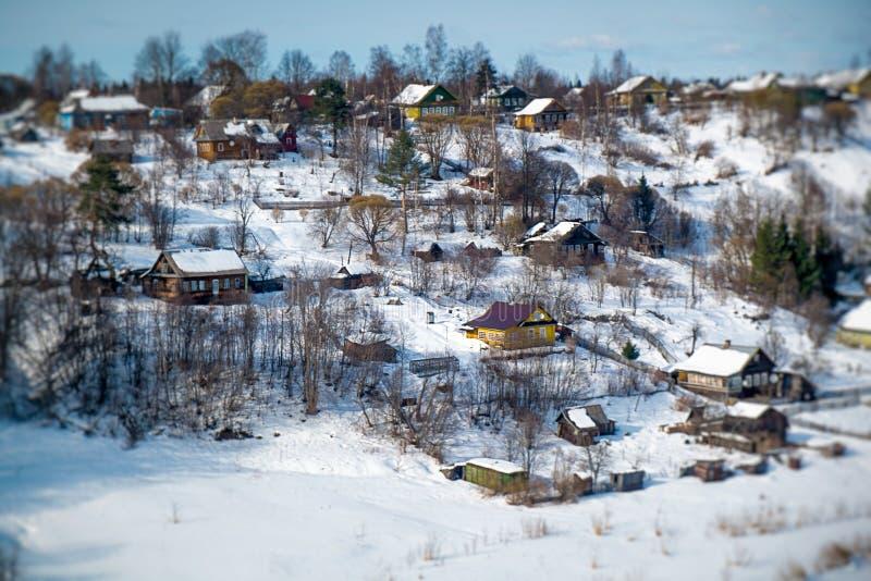 Сельский ландшафт в России стоковые изображения