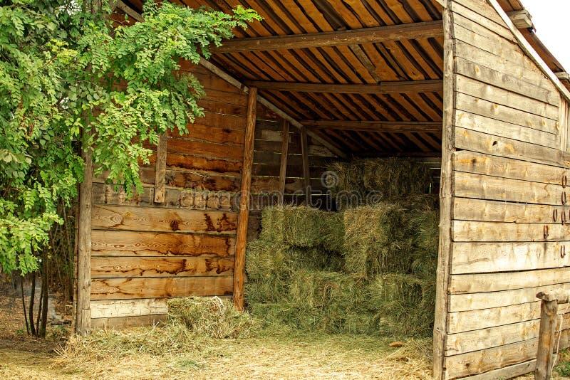 Сельский итальянский сеновал стоковые фото