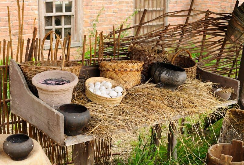 Сельский натюрморт стоковые фотографии rf