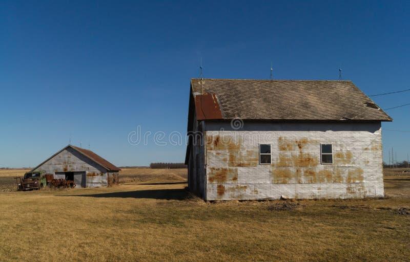сельский дом деревенский стоковое изображение rf