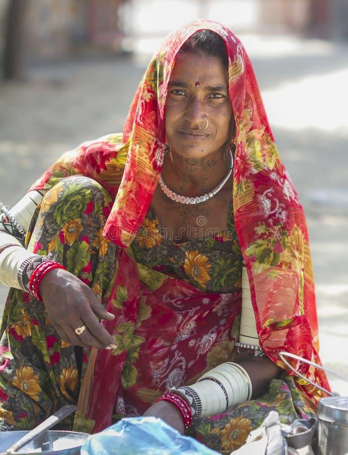 сельское мальчика индийское стоковые изображения rf