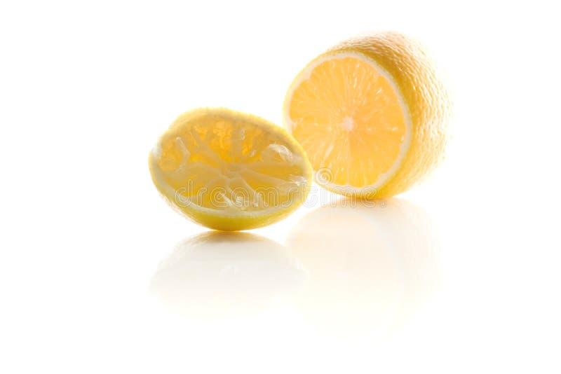 Сжатый лимон стоковая фотография rf