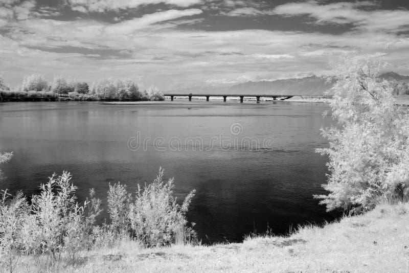 Сибирский утес mt Sayani на Lake Baikal стоковые изображения rf