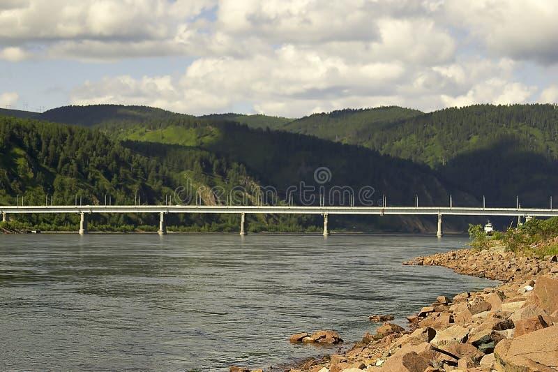 сибиряк реки стоковая фотография rf
