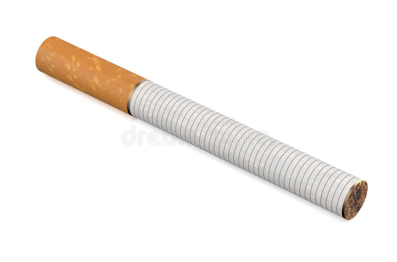 сигарета одно иллюстрация штока
