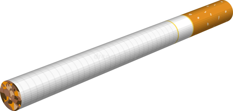 сигарета иллюстрация вектора