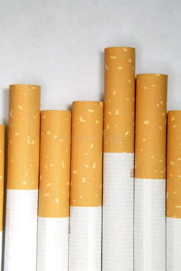 сигареты закрывают вверх стоковое изображение