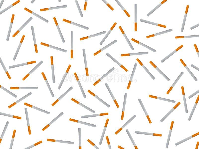 Сигареты и продукты табака стоковая фотография rf