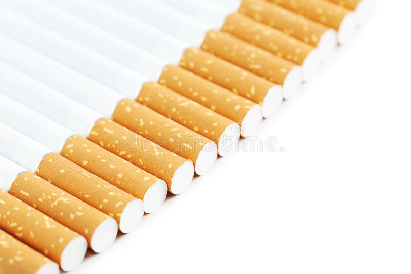 Сигареты табака стоковое фото rf