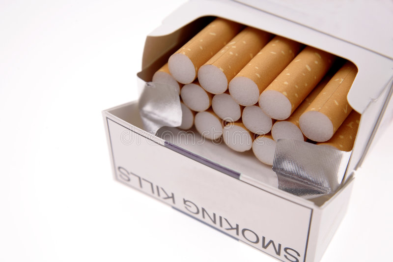 сигареты стоковое изображение