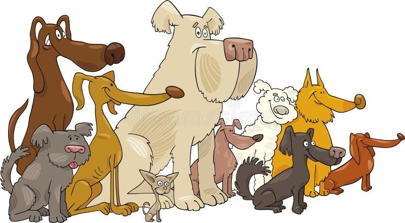 сидеть собак бесплатная иллюстрация