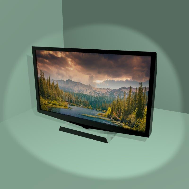 СИД ТВ дома бесплатная иллюстрация
