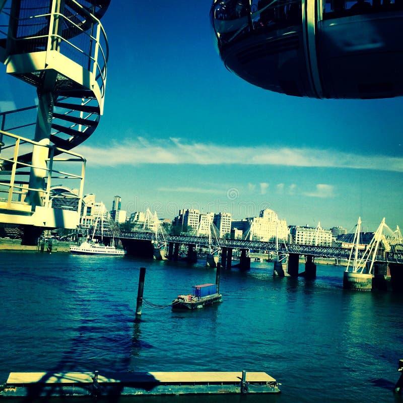 Сизоватая Темза стоковая фотография rf