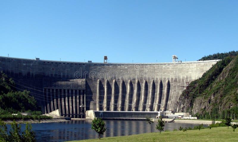 сила гидроэлектрического завода стоковое фото rf