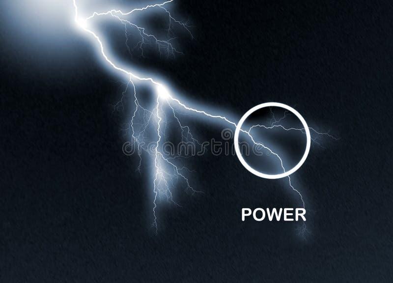 сила кнопки иллюстрация вектора