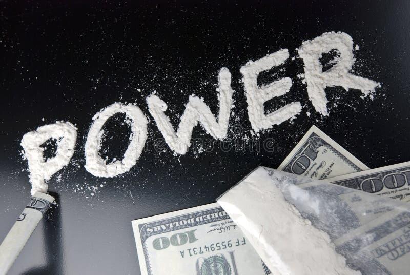 сила наркомании стоковое изображение rf