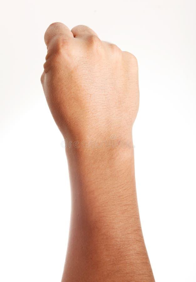 сила руки стоковое изображение rf