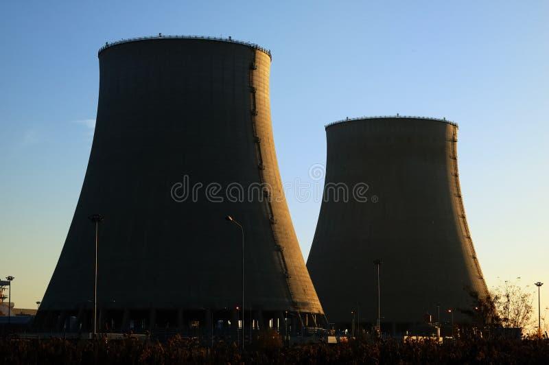 сила ядерной установки стоковое изображение