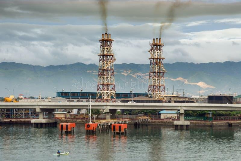сила polluting завода тропическая стоковое фото