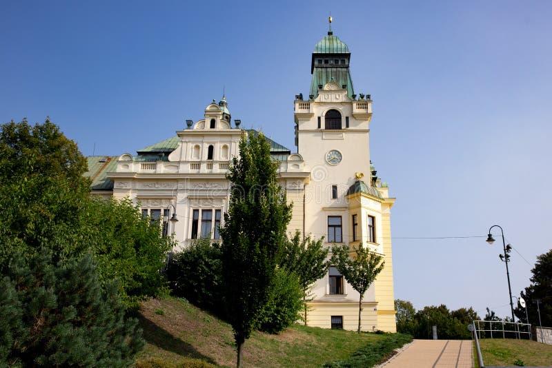 Силезское здание городской ратуши Остравы в чехии стоковое фото