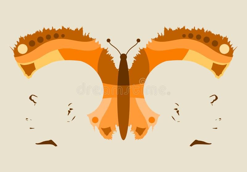 Силуэты головы 2 иллюстрация штока