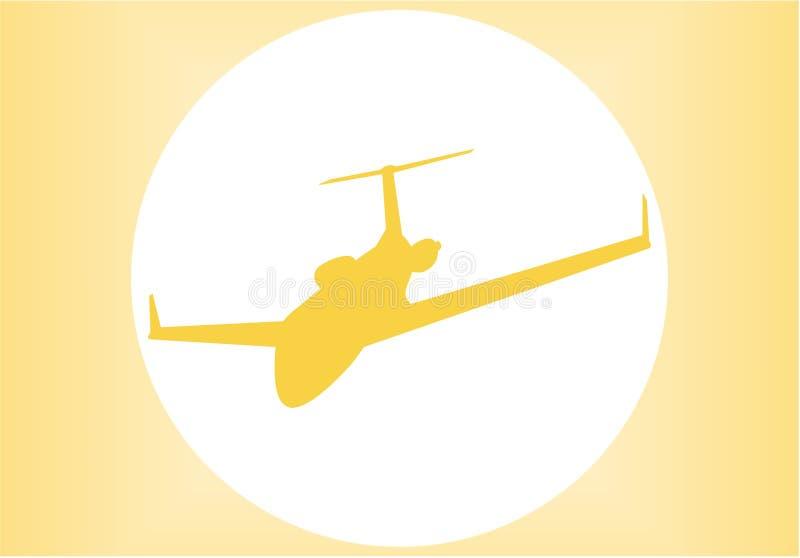 силуэт аэроплана бесплатная иллюстрация