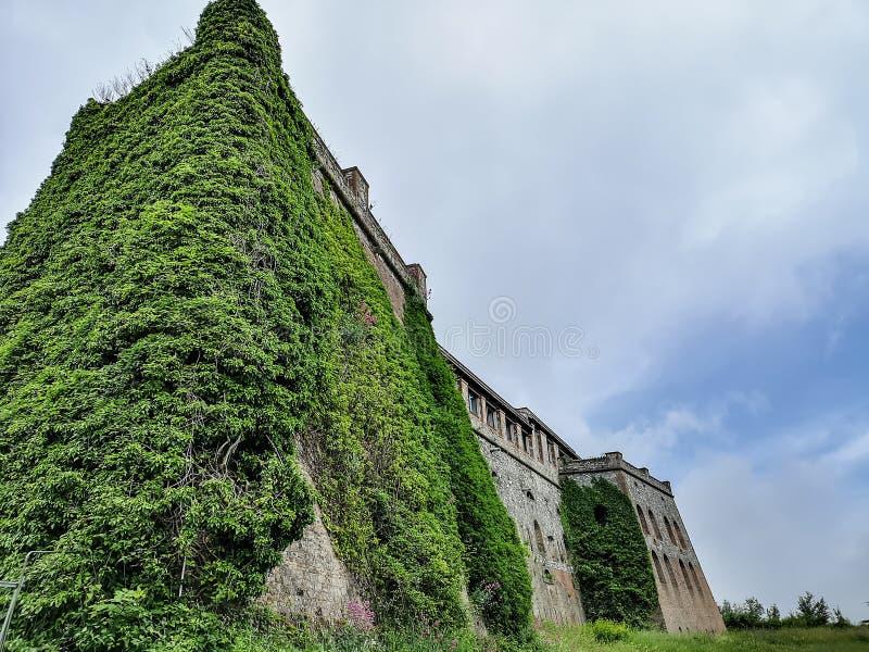 Сильная сторона Begato в Генуе, Италии стоковая фотография