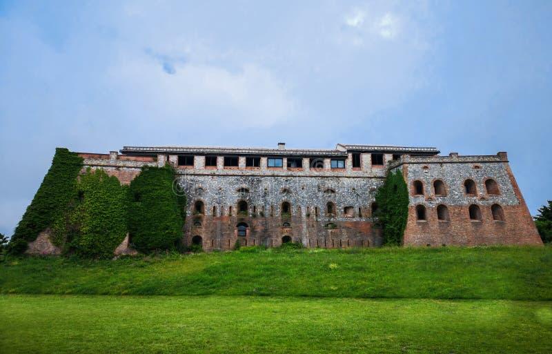 Сильная сторона Begato в Генуе, Италии стоковое изображение rf