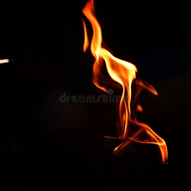 Сильный огня стоковое изображение
