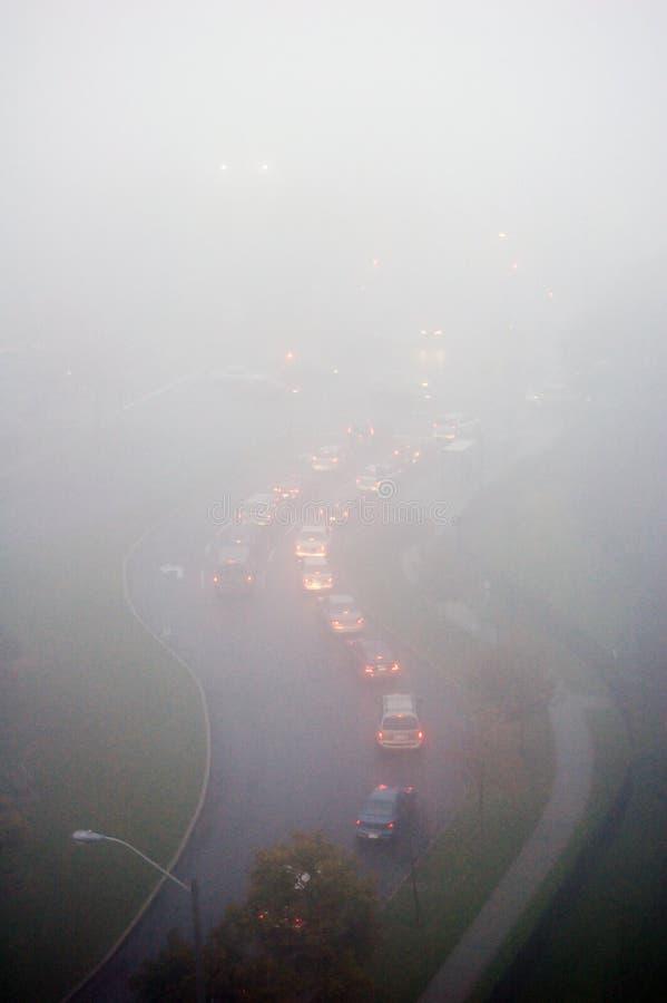 Сильный туман стоковая фотография rf