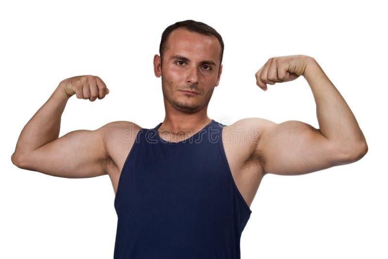 сильный человек стоковое фото rf