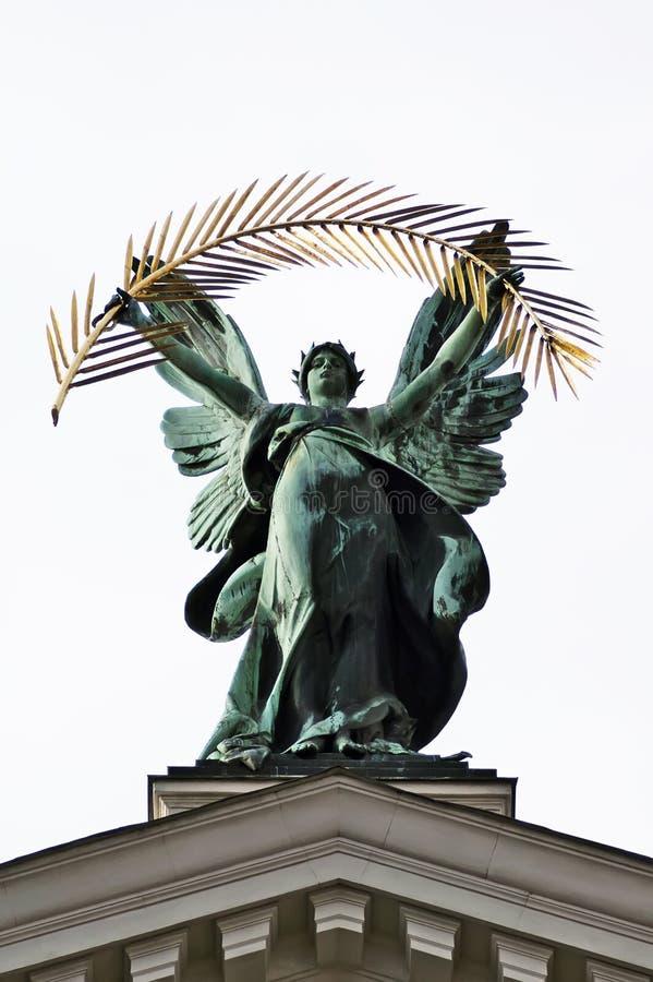 символизировать скульптуры славы стоковое фото