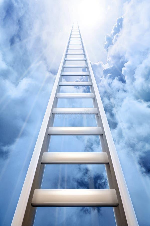 символизировать успеха неба трапа иллюстрация вектора