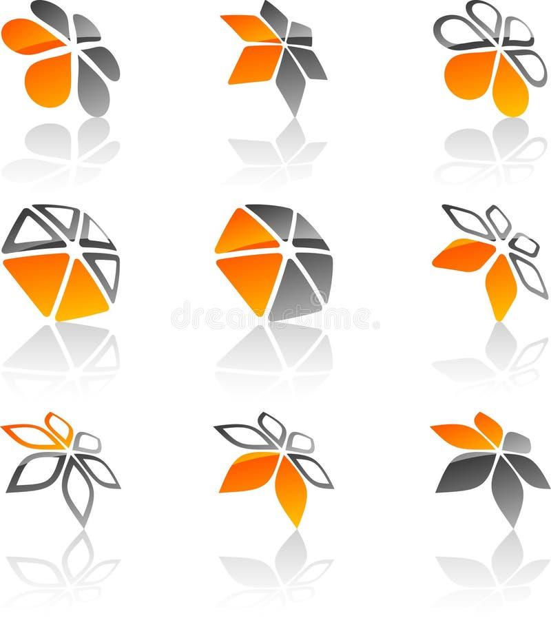 символы компании установленные бесплатная иллюстрация