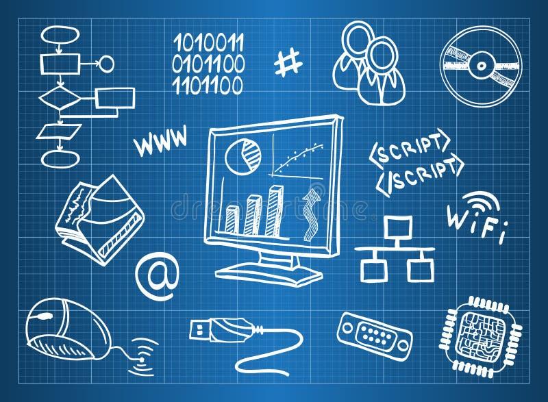 символы компьютерного оборудования бесплатная иллюстрация