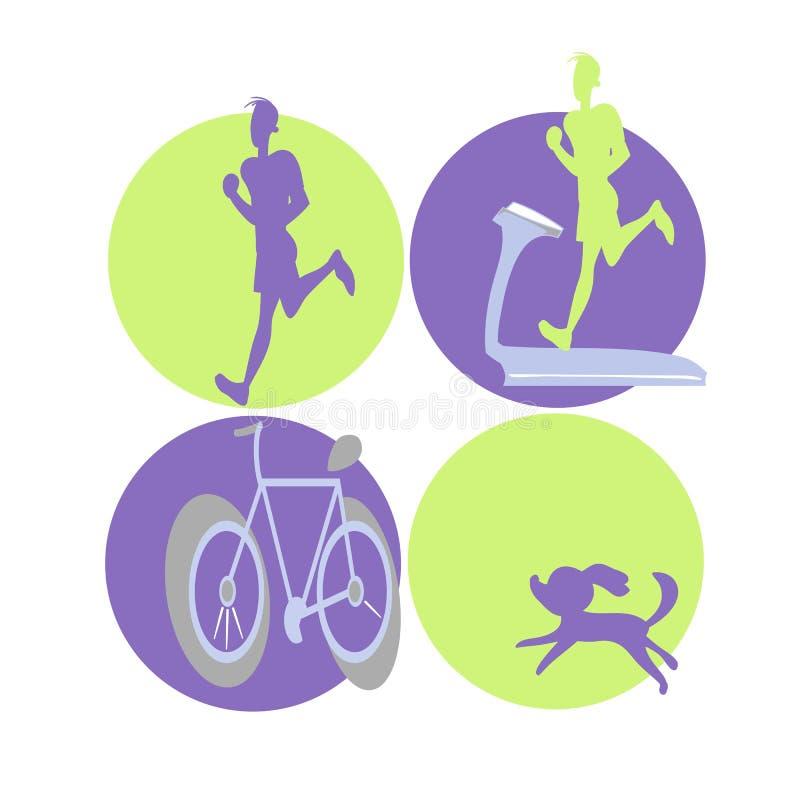 Символы спорт иллюстрация штока