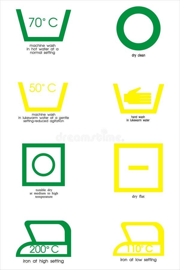 символы ткани иллюстрация штока