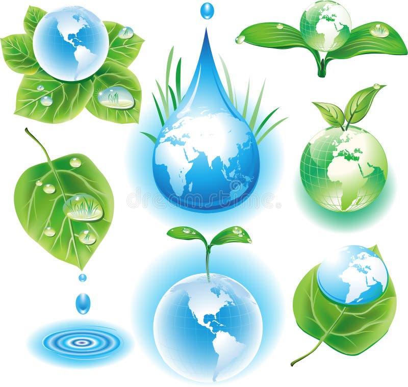 символы экологичности принципиальной схемы бесплатная иллюстрация