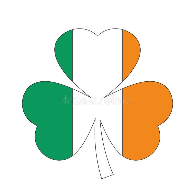 Символ вектора Ирландии Shamrock бесплатная иллюстрация