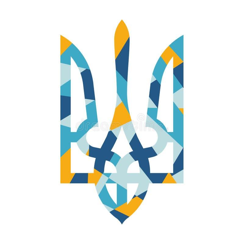 Символ вектора Украины стоковая фотография rf