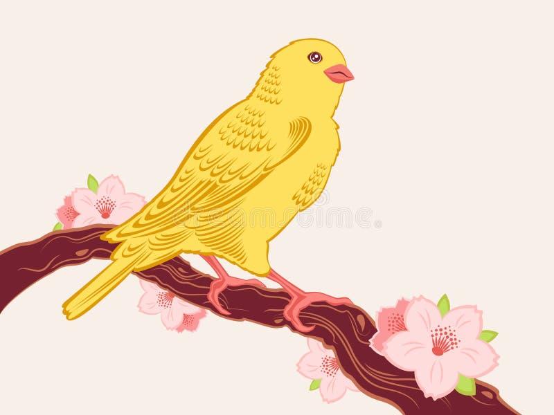 символ весны иллюстрация вектора