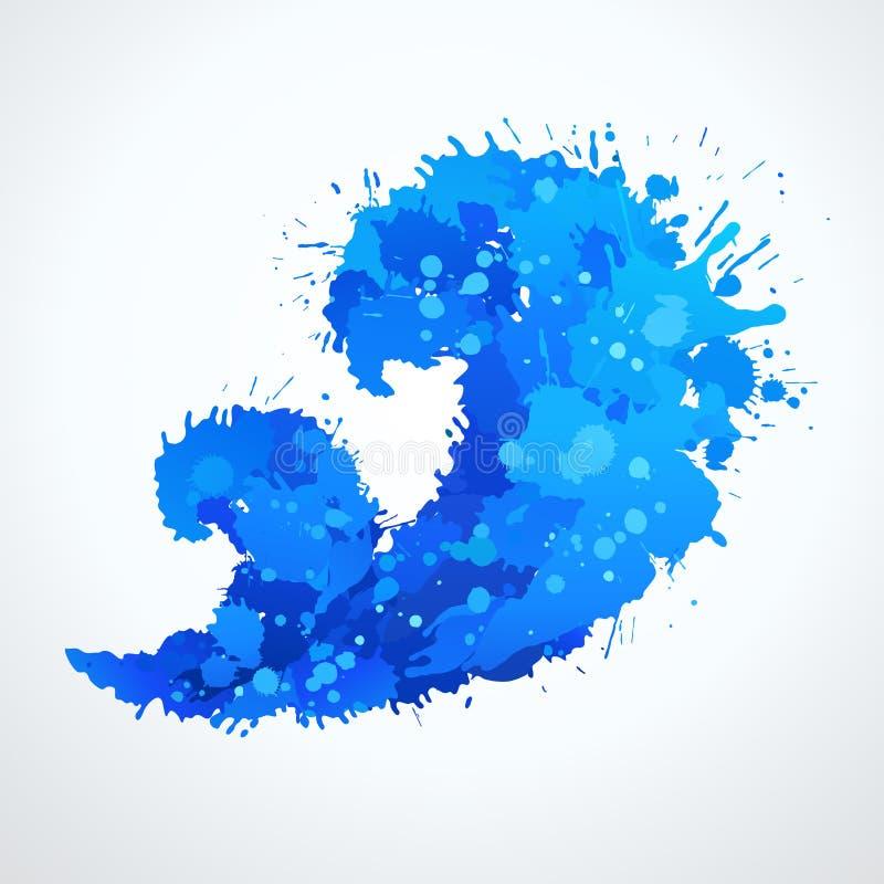 Символ волны (икона). Вектор иллюстрация штока