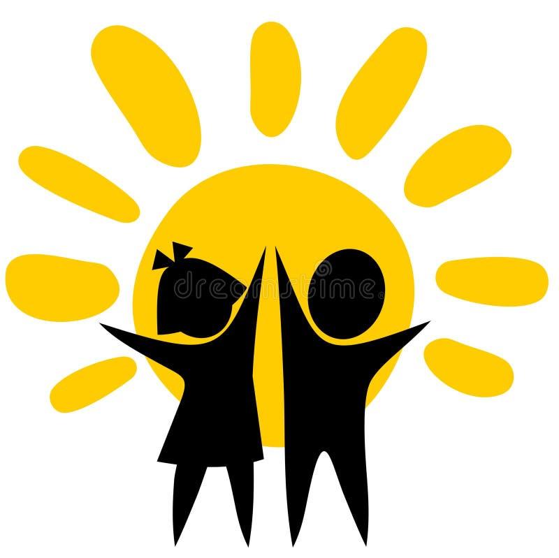 символ детства иллюстрация штока