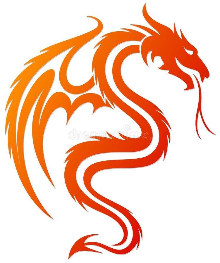 Символ дракона бесплатная иллюстрация