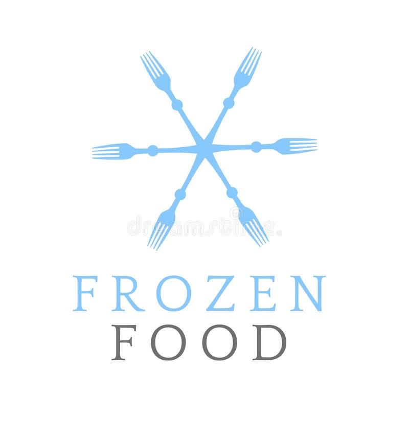 Символ замороженных продуктов бесплатная иллюстрация