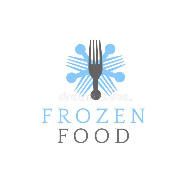 Символ замороженных продуктов стоковое фото