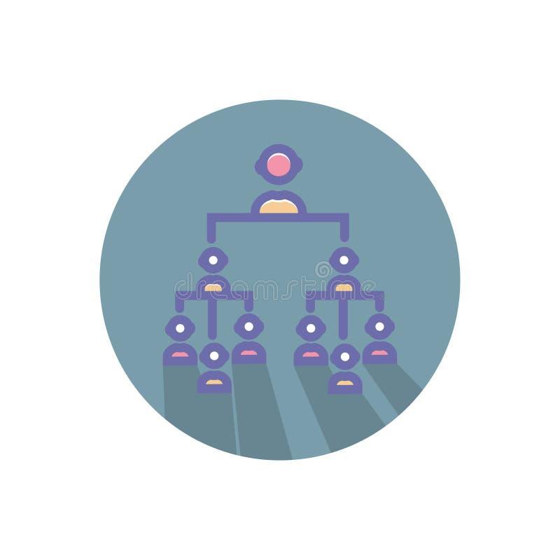 Символ знака вектора иерархии значок иерархии вектора чистый для вебсайта или мобильных приложений иллюстрация вектора