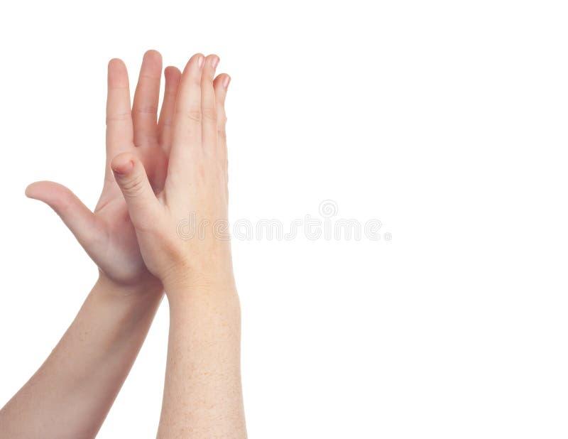 символ знака руки стоковые фото